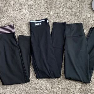 Black leggings 3 pack